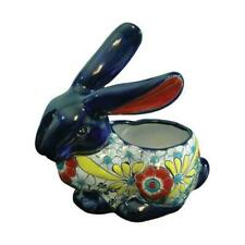 Avera Products Apg007105 10.5 in. Talavera Rabbit Planter - pack of 2
