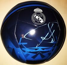 RAUL GONZALEZ BLANCO SIGNED AUTOGRAPHED REAL MADRID SOCCER BALL SPAIN LEGEND COA