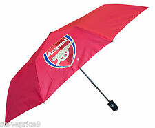 Arsenal Licence Officielle Mini Automatique Parapluie De Golf - Rouge