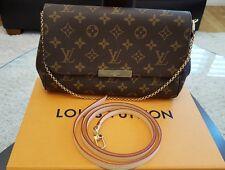 AUTH BNIB Louis Vuitton Favorite MM Monogram Bag Pochette Crossbody *SOLD OUT*