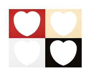 10 x 8 Frame  Size Love Heart Shape Valentines Gift Picture Photo Mounts  Frames