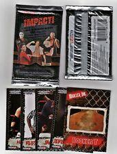 2008 Tri-Star Impact Wrestling 5-Card Sealed Pack(FIND:Autographs GU Event cards