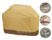 Premium Heavy Duty Waterproof 58'' BBQ Cover Smoker Barbecue Grill Storage GQ5PB