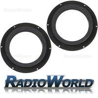 """Skoda Octavia II 2005–2013 6.5"""" MDF Front Speaker Adaptors / Rings / Spacers"""