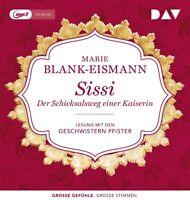 SISSI.DER SCHICKSALSWEG EINER KAISERIN - BLANK-EISMANN,MARIE   MP3 CD NEW