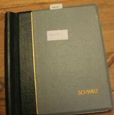 598729/ Schweiz Restsammlung 2,1 KG 1960-89 auf Leuchtturmvordruck