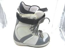 Burton Freestyle gray snowboarding boots snowboard Mens Shoes 9M 8M womens 10M