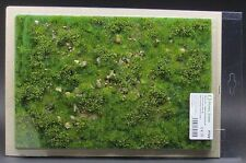 Model Scene F722 - Premium Grass Mat (early summer with stones) diorama scenery
