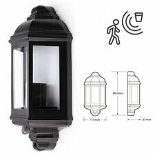 E27 LED Halb Traditionell Klassisch Außen IP44 Laterne Pir Bewegungssensor Licht