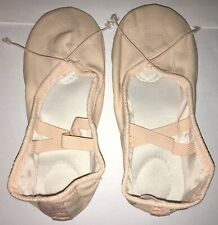 NEW Pink Canvas Ballet Shoes Slippers - Size 32