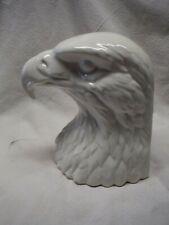 Lladro Hispania Daisa White Eagle Head Bookend 1984