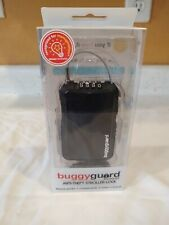 Buggyguard Anti Theft Retractable Stroller Lock Black New Free Shipping