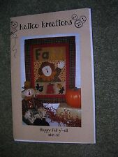 """Happy Fall Y'all"" Applique Quilt Kit by Kalico Kreations"
