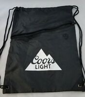Coors Light Drawstring Beach Bag with Zipper and Headphone Hole
