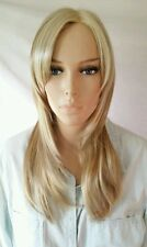 STAR | BLONDE | SLEEK HAIR COUTURE|MONOFILAMENT STRAIGHT SYNTHETIC WIG +BANGS