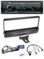 Kenwood DAB USB Bluetooth Lenkrad Autoradio für Ford Mondeo 2000-02 schwarz