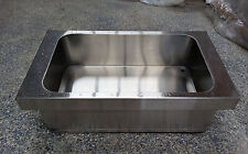 Icebath, for 1/1 pan, with drain, stainless, insulated, drop in, flexi, 5004442