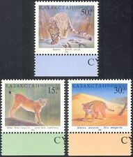 Kazakhstan 1998 Leopard/Lynx/Wild Cats/Animals/Wildlife/Nature 3v set (b9683)
