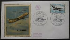 FRANCE FDC Airbus 07-04-1973 Toulouse