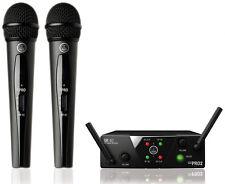AKG WMS 40 Mini 2 Vocal Set Dual - Radiomicrofono Doppio Palmare