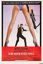 "James Bond For Your Eyes Only Movie Poster Replica 13x19"" Photo Print"