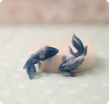 Fish silicone mold, Goldfish mold for polymer clay, epoxy resin, food materials