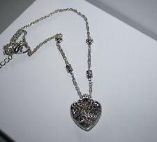 Heart Necklace Brighton Beach Filigree
