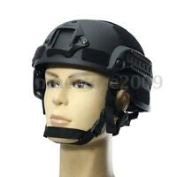MICH2000 Black Outdoor Airsoft Military Tactical Combat Riding Hunting Helmet