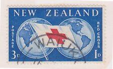 (IQ-127) 1959 NZ 3d RED CROSS