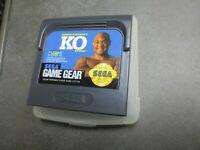 George Foreman's KO Boxing (Sega Game Gear, 1992)