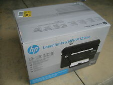 Brand New HP Laserjet Pro M125nw Wireless B&W Laser All-in-one Printer Scan Copy