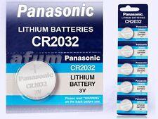 10x Panasonic Lithium Power CR2032/ DL2032/BR2032/ KCE2032/LM2032