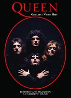 Queen: Greatest Video Hits DVD Bohemian Rhapsody Radio Gaga Freddie Mercury