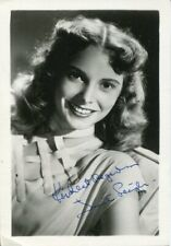 Janet Leigh Psycho Touch Of Evil The Fog Oscar Nominee Signed Autograph Photo