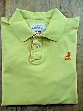 AEROPOSTALE S/S 100% Cotton Yellow Polo Shirt Size XL
