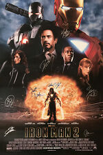 SIGNED IRONMAN 2 MOVIE POSTER
