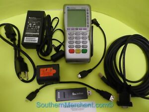 VERIFONE VX670 GPRS CHIP SLOT PC CABLE RS232 DONGLE PACKAGE Mini HDMI port.