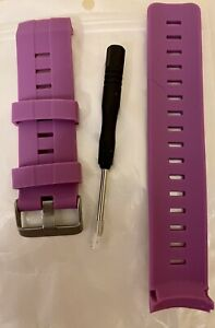 SUUNTO Ambit3 Vertical /Spartan Replacement BAND Purple New With Tool