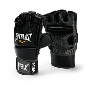 Everlast MMA Kick Boxing Gloves 4402B Extended Knuckle Padding