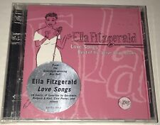 Love Songs: Best of the Verve Songbooks by Ella Fitzgerald SEALED CD 1996 Verve
