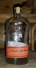 1 Empty Glass Bottle -  Bulliet Bourbon - Frontier Whiskey Empty bottle only