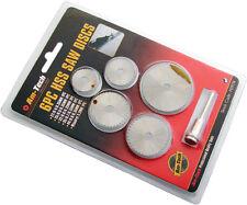 6pc Mini Micro Piccolo HSS Sega circolare Lame a disco per hobby TRAPANI 22-35mm NUOVO