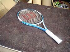 New listing Wilson n Fury Hybrid 110 Tennis Racquet 4 3/8 w Pro Overwrap