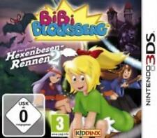 Nintendo 3DS Bibi Blocksberg Das große Hexenbesen Rennen 2 Top Zustand