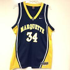 Marquette Basketball  #34 TRAVIS DIENER XL +2 Long