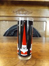 Vintage Dairy Queen Holt Howard Christmas Santa Tumbler Glass