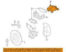 GM OEM Rear-Brake Disc Caliper 15254647