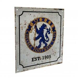 Chelsea FC Retro Metal Sign