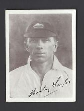 UNITED TOBACCO - SOUTH AFRICAN CRICKET TEAM (AUTO) - H W TAYLOR, TRANSVAAL