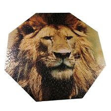 Springbok King Of Beasts Hexagon Shaped 500 Pieces Puzzle Complete